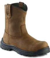 3274 RED WING MEN'S 9-INCH PULL-ON SAFETY BOOT BROWN RIGGER STYLE