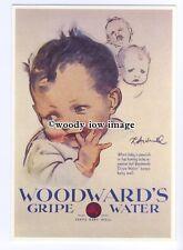 ad0813 - Woodwards Gripe Water - Happy Baby -  Modern Advert Postcard