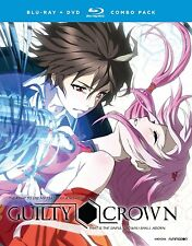 Guilty Crown . The Complete Series . Anime . 4 DVD + 4 Blu-ray . NEU . OVP