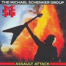 Assault Attack [Bonus Track] by Michael Schenker/Michael Schenker Group (CD, Jun-2009, Chrysalis Records)