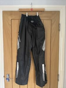 Alture Night Vision Womens Cycling Waterproof Trousers Size 12 Mountain Road