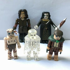 5Lot Toys Lord of the Rings LOTR Minimates Series 1 Aragorn Frodo action figures