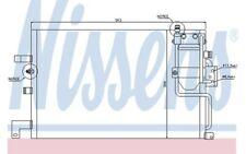 NISSENS Condensador de aire acondicionado 94504