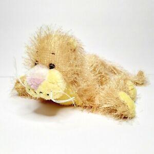 "Ganz Webkinz Lioness Plush 8"" Yellow Cat Stuffed Animal NO Code"