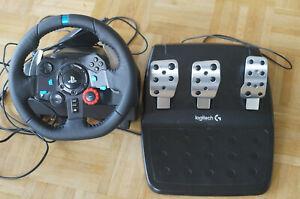 Logitech G29 Driving Force (941-000112) Lenkrad und Pedale defekt Stromkabel feh
