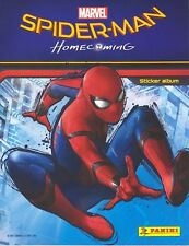 50 Different Panini SPIDERMAN HOMECOMING stickers