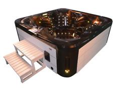 Aussenwhirlpool Hot Tub Spa Pool GP4-200 coffee-weiss