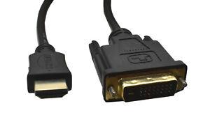 DVI-D auf HDMI Adapterkabel 2m