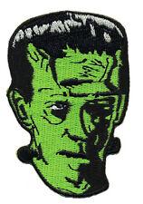 Frankie's SKULL Frankenstein's IRON ON 3 INCH   PATCH
