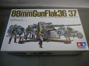 Tamiya 35017 German  88mm Gun Flak 36/37  Modellbausatz 1:35  (F4)