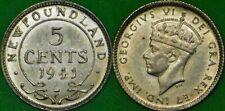 1941 Canada (C Mark) Silver Newfoundland Nickel Graded as Very Fine