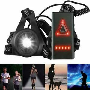 LED Running Outdoor Chest Lamp Warning Light Walking Torch Safety Night Flash