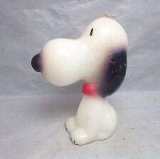 Lorelei Novelty molded wax candle. SNOOPY peanuts comic