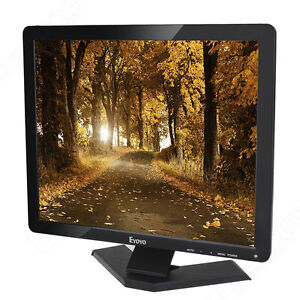 "17"" 4:3 Ultra LCD TFT Monitor/Display 1080P AV HDMI USB BNC VGA For CCTV PC DVR"