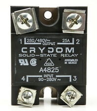 CRYDOM A4825 Solid State Relay Input 90-280V Output 280/480V 25A NOS