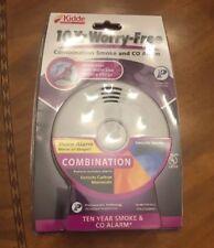 Kidde 10 Year  Battery/Worry Free Combination Smoke and CO Alarm - (P3010CU) NEW