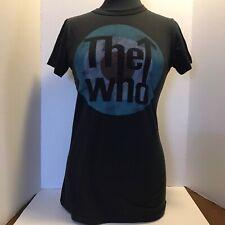 Junk Food Winterland Classic Rock The Who Vintage Soft T Shirt Sz L USA C4