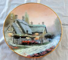 1992 Knowles Collector''S Plate Thomas Kincade McKenna's Cottage #1534D
