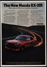 1977 MAZDA RX-3SP Sports Car - SP Does Not Stand For Slowpoke - VINTAGE AD