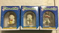 Dreamsicles Ornaments 3 piece lot Dx291, Dx292, Dx296 In Box