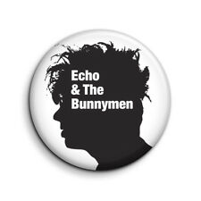 ECHO AND THE BUNNYMEN 25mm Button Badge. FREE POST