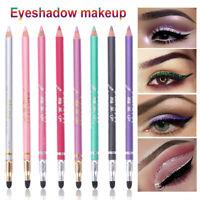 Pigment Bleistift für Augenlider Glitter Shimmer Eyeshadow Pen für Augenlinsen