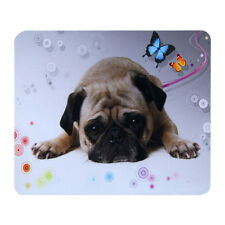 Lazy Pug Anti-Slip Gaming Mouse Pad Rubber Mice Mat For Optical Laser Mouse