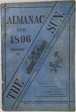 Baltimore Sun Maryland Almanac 1896