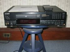 """Vintage Sony CDP-X222ES CD Player""...(includes manual & remote control)"