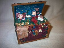 Windsor Collection Musical Treasure Box Christmas Music Box In Original Box