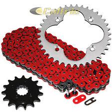 Red O-Ring Drive Chain & Sprocket Kit Fits HONDA TRX400EX TRX400X 2005-2014