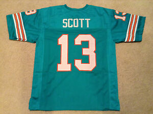 UNSIGNED CUSTOM Sewn Stitched Jake Scott Teal Jersey - Extra Large