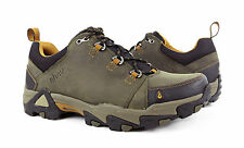 Ahnu Coburn Low Bunker Green Leather Hiking Boots Mens Size 10 *NIB*
