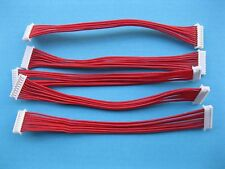 400 pcs 1.25mm 10 Pin Female F-F Polarized Connector 28AWG 100mm Leads Cable