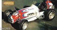 TAMALE WAGON Sprint Car SPEC SHEET / Brochure: AJ Foyt