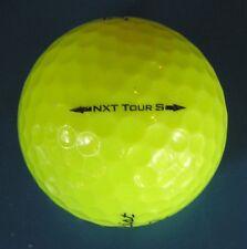 15 Titleist NXT Tour S optic yellow Premium golf balls Grade AAAAA