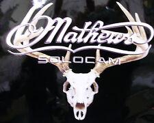 "Mathews european mount picture decal die cut 16"" x 14"""