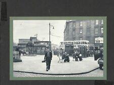 Nostalgia Postcard Youth Employment on way to Govan Shipyard Glasgow 1955