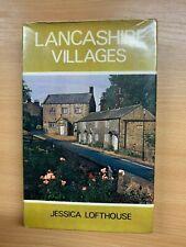 """1973 """"LANCASHIRE VILLAGES"""" TRAVEL PHOTO ILLUSTRATED HARDBACK BOOK"""
