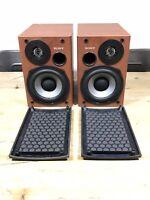 Sony SS-CCPX11 HiFi Stereo Bookshelf Speakers Wood Effect 4 OHMS 60 Watt