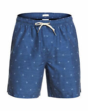 """NEW QUIKSILVER™  Mens Waterman Airbourne Fishes 18"""" Swim Boardshort Surf Board S"""