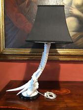 LAMPADA IN PORCELLANA DI CAPODIMONTE MARCHIATA I BORBONE LAMP PORCELAIN CAPODIMO