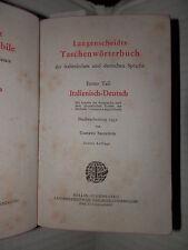 LANGENSCHEIDT DIZIONARIO TASCABILE DELLE LINGUE ITALIANA E TEDESCA Sacerdote di