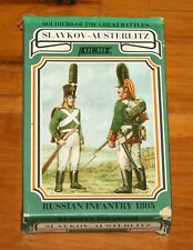 ARtMI Slavkov - Austerlitz RUSSIAN INFANTRY 1805 Model Figures NEW IN BOX