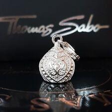 Thomas Sabo campana corazón charm club pulsera cadena colgante 925 plata prana Bell ❤