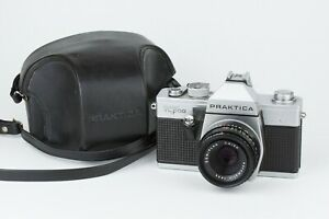 Analoge Spiegelreflexkamera PRAKTICA SUPER TL 500 + Objektiv DOMIPLAN 2.8/50