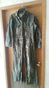 Vintage Gander Mountain Skyline? Mossy Oak? Coveralls. USA made. Small reg.