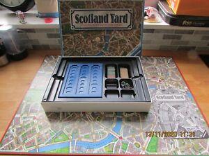 RAVENSBURGER GAMES VINTAGE SCOTLAND YARD DETECTIVE BOARD GAME 1983 100% COMPLETE