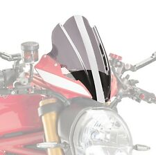 Touring Puig Ducati Monster 1200 R 16-17 rauchgrau Naked Bike