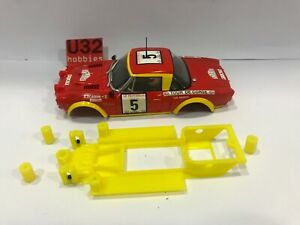 U32 Chassis 3D Fiat 124 Spyder Abarth IN Line Scalextric